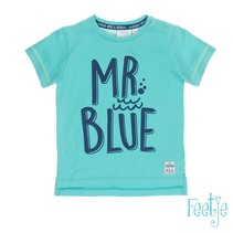 T-shirt mr. blue scuba aqua