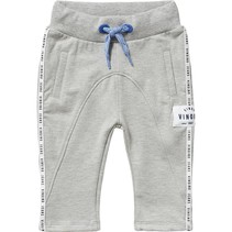 Broek Steffen light grey melee