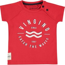 T-shirt Huck flame red