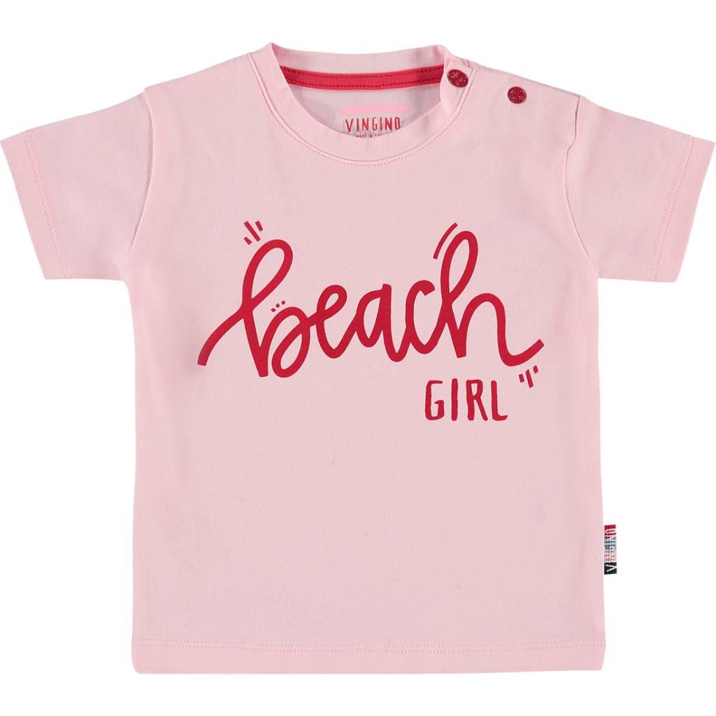 Vingino Vingino T-shirt Hawi baby pink