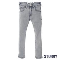 Spijkerbroek grey slim fit denim