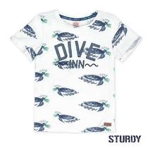 T-shirt dive inn scuba wit