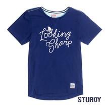 T-shirt looking sharp scuba indigo