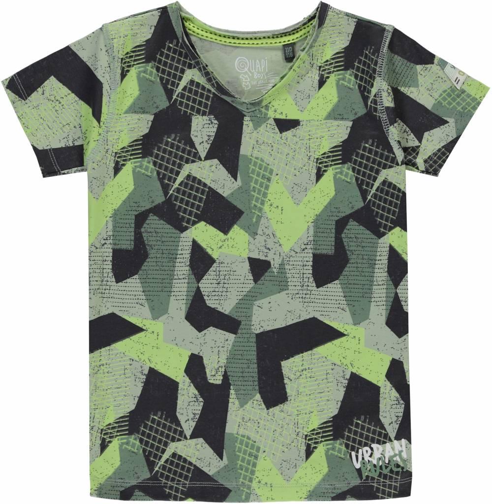 Quapi Quapi T-shirt Samuel camo