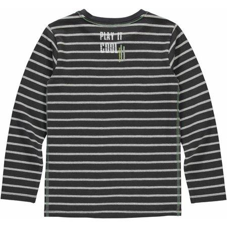 Quapi Quapi longsleeve Sabastiaan grey stripe