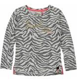 Quapi Quapi longsleeve Saskia grey zebra