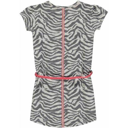 Quapi Quapi jurk Saar 1 grey zebra