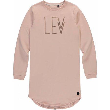 Levv Levv jurk Babette 2 logo old pink