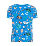 Name It Name It T-shirt Bassen strong blue