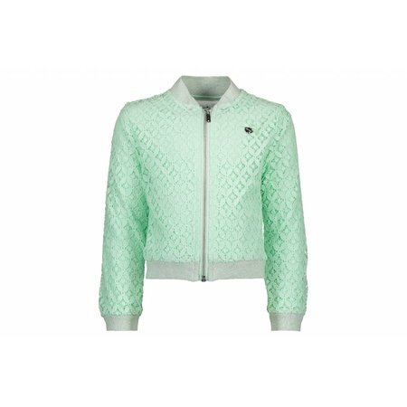 Le Chic Le Chic vest fancy lace misty green