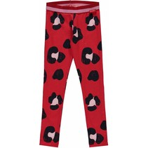Legging Shelley rouge red leopard