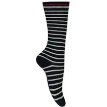 Kniekousen Silke 2 navy stripe
