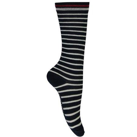 Quapi Quapi kniekousen Silke 2 navy stripe