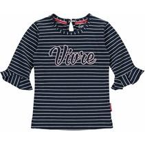 T-shirt Siska navy stripe