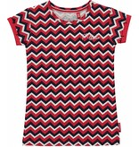 Quapi Quapi T-shirt Sissy Zigzag