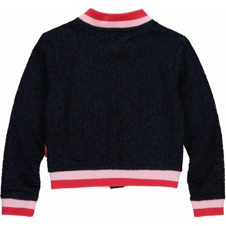 Quapi Quapi vest Solange navy lace