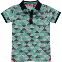 Polo Sherman ocean green triangle