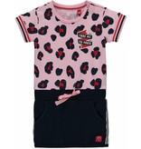 Quapi Quapi jurkje Renise rose pink leopard