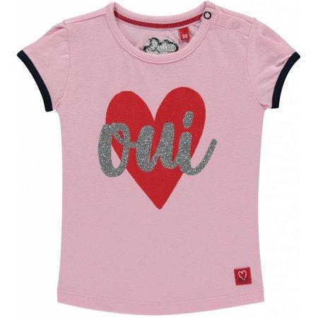 Quapi Quapi T-shirt Romana rose pink