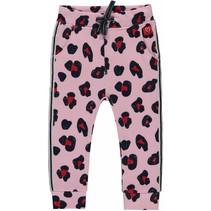 Broekje Rosalie rose pink leopard