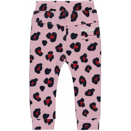 Quapi Quapi broekje Rosalie rose pink leopard