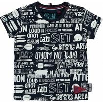 T-shirt Ricardo white text all over