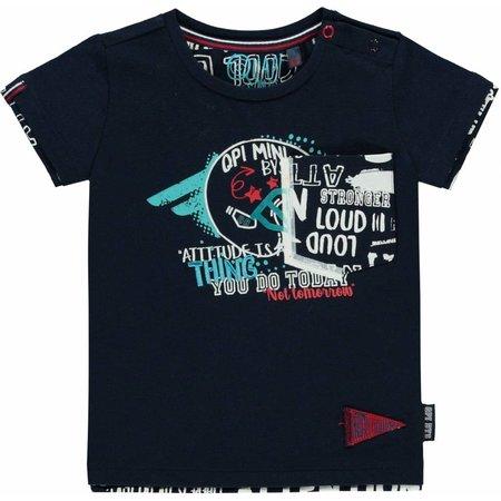 Quapi Quapi T-shirt Richard navy