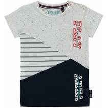T-shirt Rick navy neppie