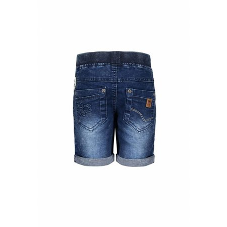 B.Nosy B.Nosy short with rope in waistband midnight denim