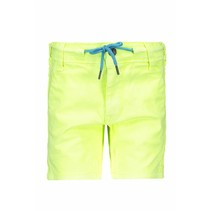 Short garment dye neon yellow