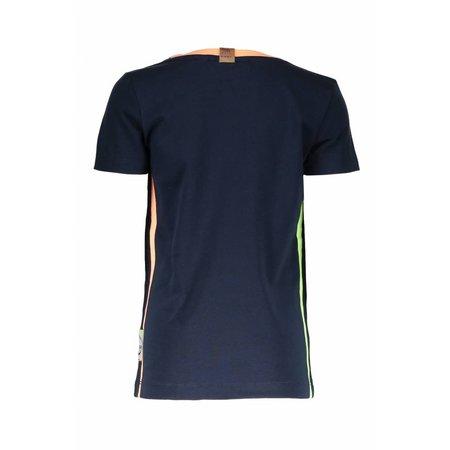 B.Nosy B.Nosy T-shirt with print on side seam midnight blue