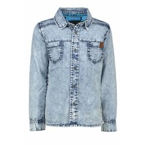 Spijkerblouse sky denim
