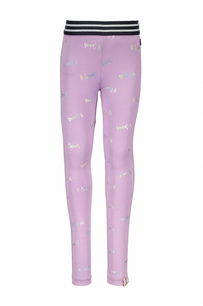 B.Nosy B.Nosy legging foil print legging sweet lilac