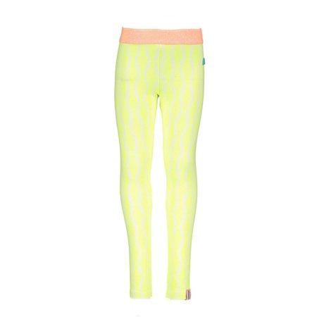 B.Nosy B.Nosy legging zebra print ao electric yellow