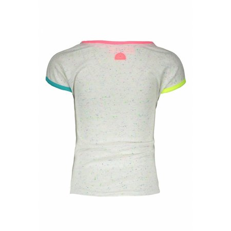 B.Nosy B.Nosy T-shirt rainbow melee with color artwork