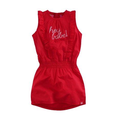 Z8 Z8 jurk Mathilda lipstick red