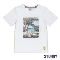 T-shirt flipping artwork sunray wit