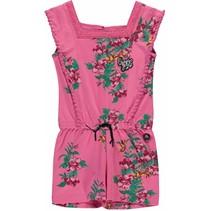 Jumpsuit Shenna bright pink flower
