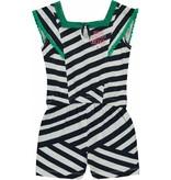 Quapi Quapi jumpsuit Shenna navy crazy stripe