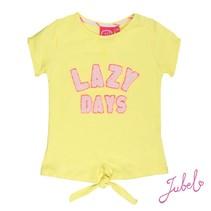 T-shirt lazy days la isla geel