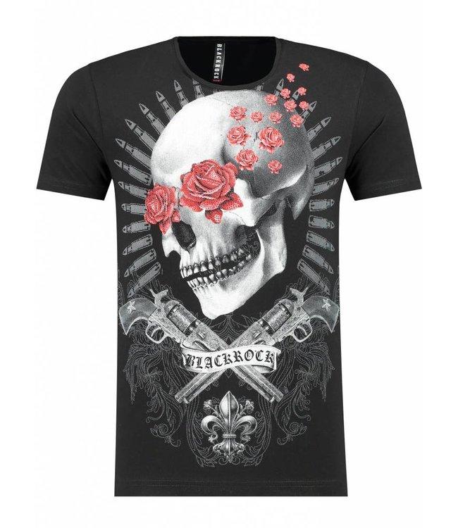 Black Rock Heren T-Shirt - Skull
