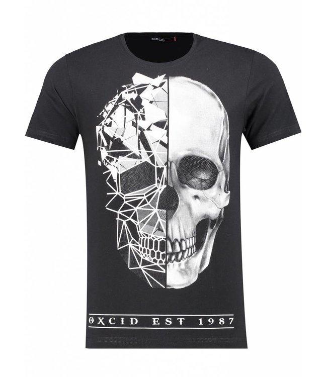 Oxcid Heren T-Shirt - Zwart
