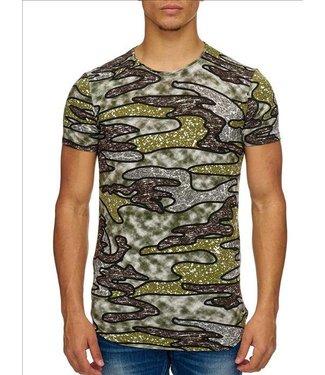 Heren Hey Boy T-Shirt - Groen