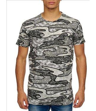 Heren Hey Boy T-Shirt - Grijs