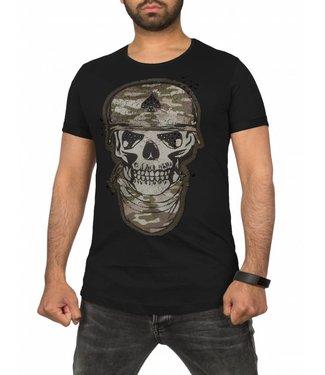 Young & Rich Tunica T-Shirt - Zwart