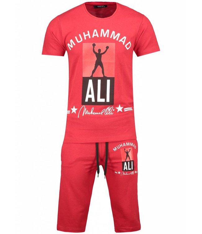 Oxcid Heren Setje Muhammed Ali - Rood
