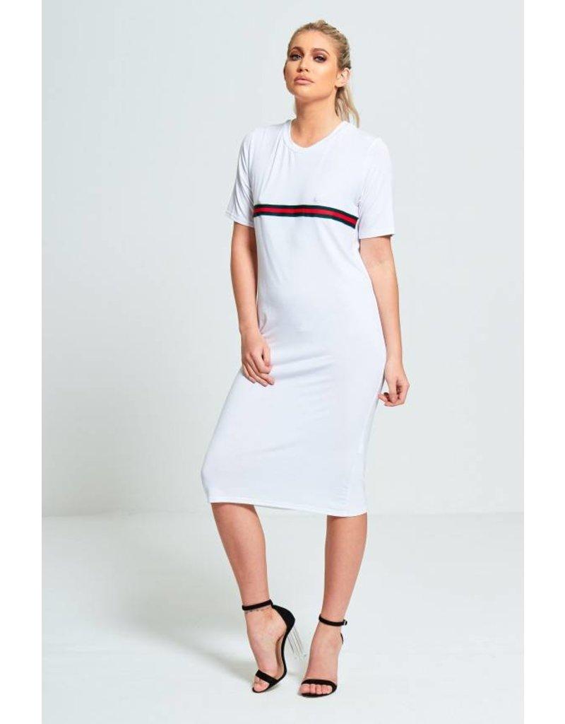jurk wit lang
