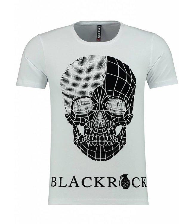 Black Rock Heren T-Shirt - Wit