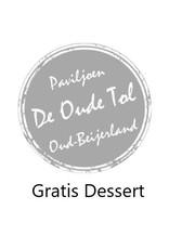 Onbeperkt gratis dessert bij je hoofdgerecht bij Paviljoen De Oude Tol in Oud-Beijerland