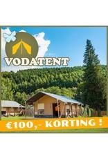 Onbeperkt €100,- korting bij Vodatent in Piershil